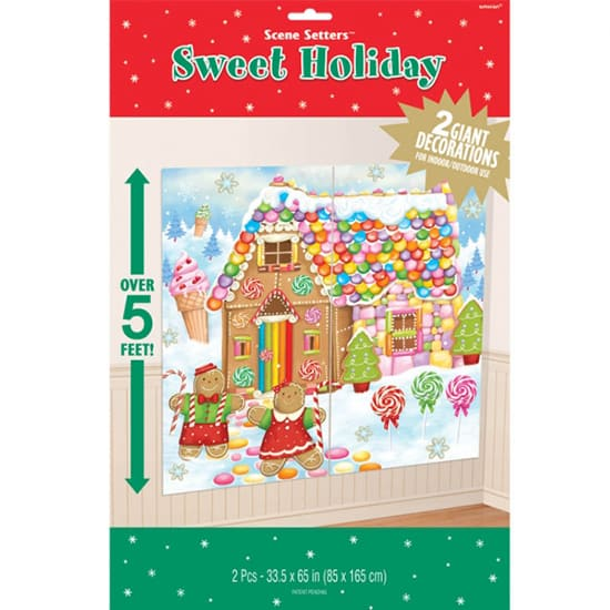 Sweet Holiday Scene Setter Add-Ons Christmas Backdrop