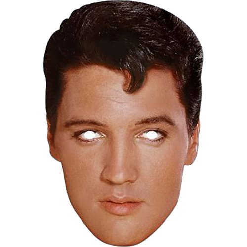 Elvis Presley Face Mask