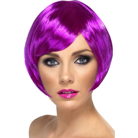 Purple Babe Wig