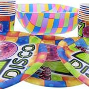 Disco Party Serveware & Drinkware