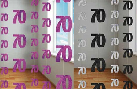 70th Birthday Party Decorations Partyrama