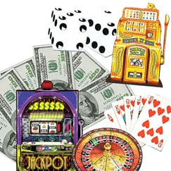 Casino Life Size Cardboard Cutouts