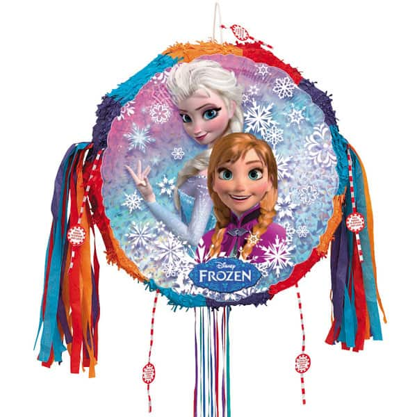 Disney Frozen Round Pull String Pinata Product Image