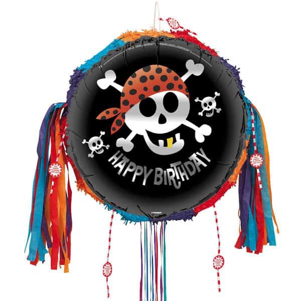 Pirate Fun Pull String Pinata
