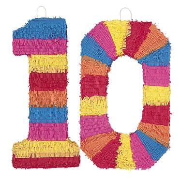 Number Pinatas
