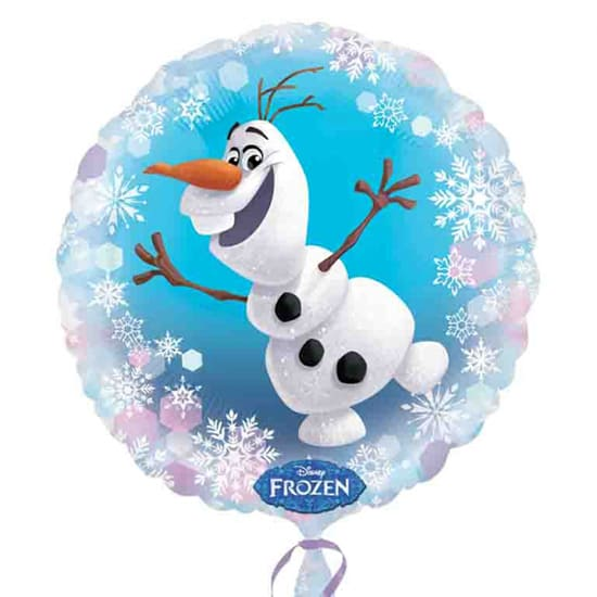 Disney Frozen Olaf Round Foil Helium Balloon 43cm / 17Inch Product Image