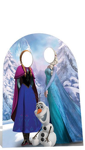 Frozen Child Size Stand In Cardboard Cutout - 134cm Product Image