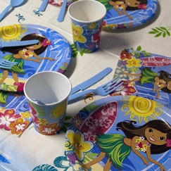 Hula Beach Party Supplies Category Image