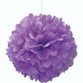 Purple Honeycomb Hanging Decoration Puff Ball