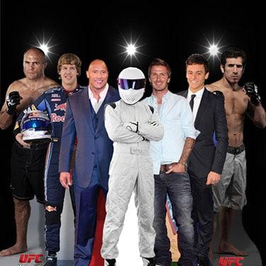Sports Stars Life Size Cardboard Cutouts Category Image