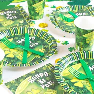 St Patricks Day Lucky Stripes