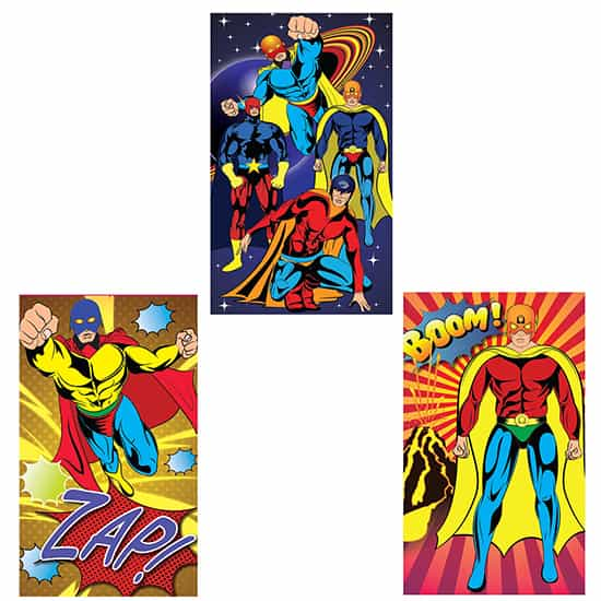 Assorted Mini Super Hero Notebook