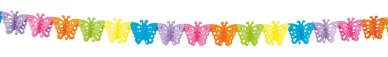 Butterfly Paper Garland - 4m