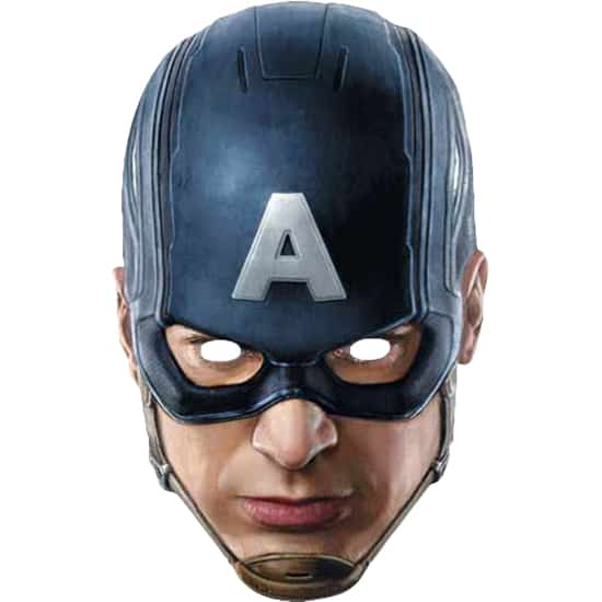 Avengers Age Ultron Captain America Face Mask