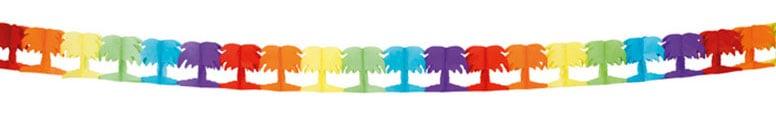 Palm Tree Paper Garland - 4m
