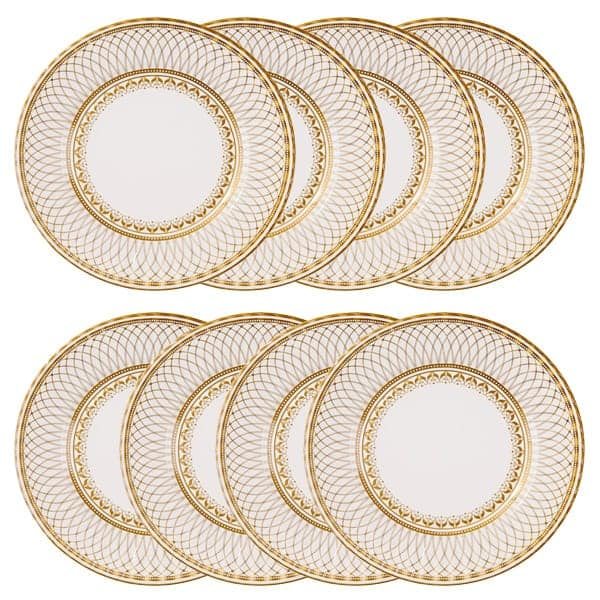 porcelain-gold-round-paper-plate-11-inches-28cm-  sc 1 st  Partyrama & Porcelain Gold Paper Plate 11