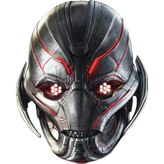 Marvel Avengers Age Ultron Ultron Face Mask Partyrama Co Uk