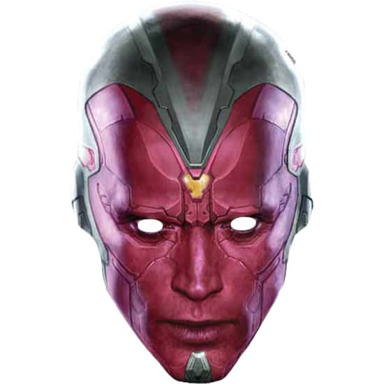 2c8a017b9cd Marvel Avengers Age Ultron Vision Face Mask