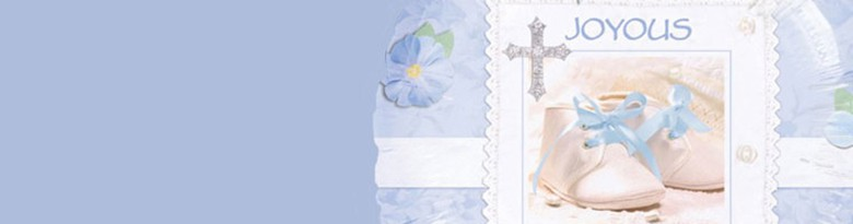 Tiny Blessings Blue Party Supplies