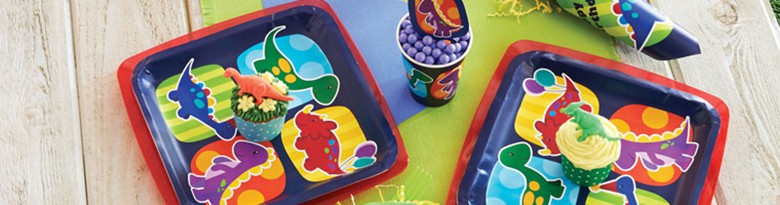 Little Dino Party Supplies Top Image