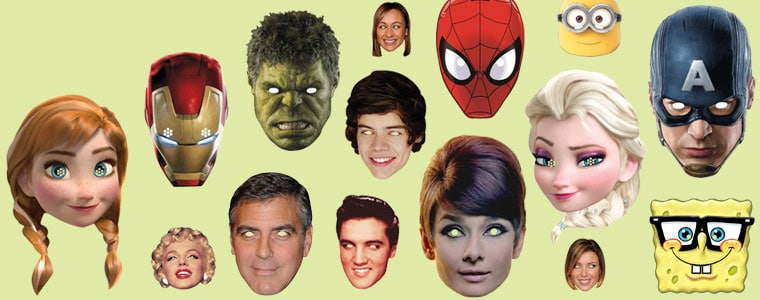 Celebrity Face Masks Category Image