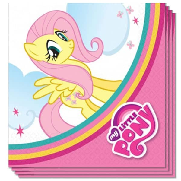 My Little Pony 2 Ply Luncheon Napkins - 13 Inches / 33cm - Pack of 20