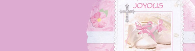 Tiny Blessings Pink Party Supplies
