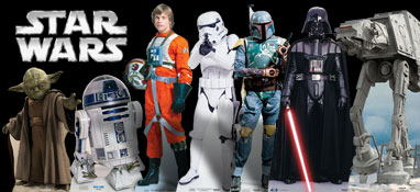 Star Wars Lifesize Cardboard Cutouts