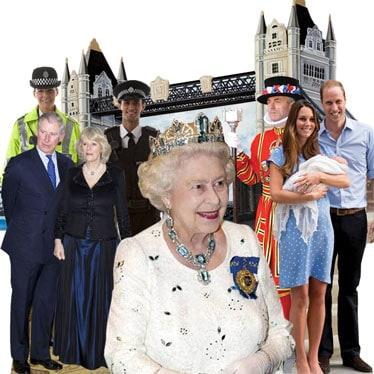 Royal Family Life Size Cardboard Cutouts