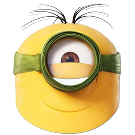 Minions The Movie Au Cardboard Face Mask Product Image