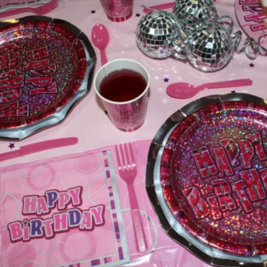 Pink Glitz Party Link