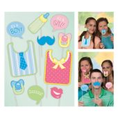Baby Shower Photo Prop Accessories – Pack of 10