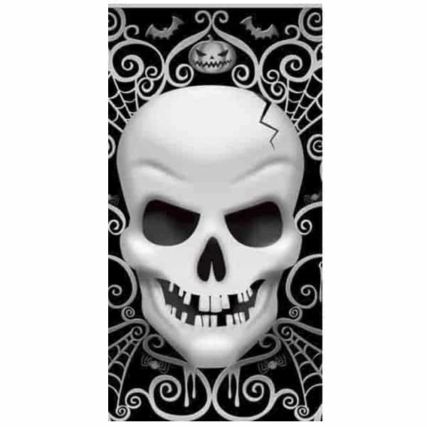 Fright Night Plastic Tablecover - 137cm x 259cm