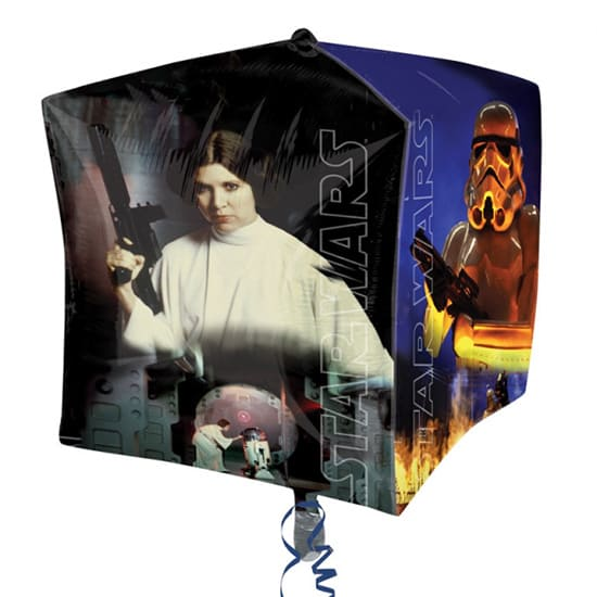 Star Wars Cubez Foil Helium Balloon 38cm / 15Inch Product Gallery Image