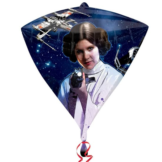 Star Wars Diamondz Balloon - 17 Inches / 43cm Product Gallery Image