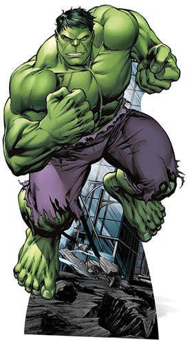 Avengers Hulk Lifesize Cardboard Cutout - 176cm Product Gallery Image