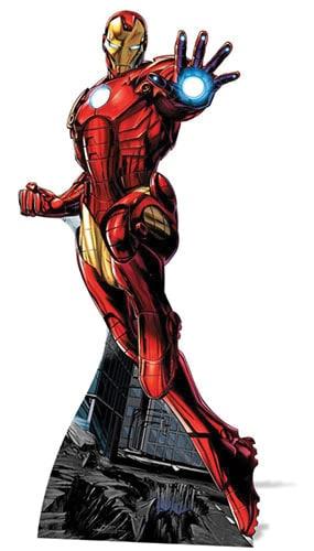 Avengers Iron Man Lifesize Cardboard Cutout - 175cm Product Gallery Image