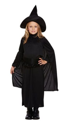 Classic Witch Costume 4 - 6 Years Childrens Fancy Dress