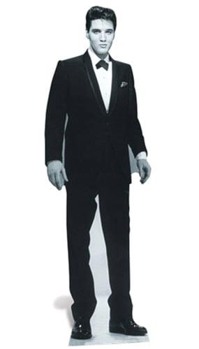 Elvis Tuxedo Lifesize Cardboard Cutout - 178cm Product Gallery Image