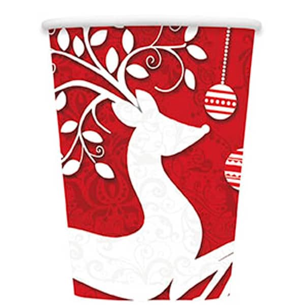 frosted-holiday-paper-cup-9oz-266ml-product-image