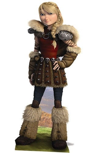 How to Train Your Dragon Astrid Lifesize Cardboard Cutout - 166cm Product Gallery Image