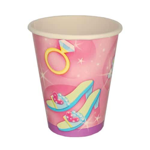 Prismatic Princess Paper Cup 266ml