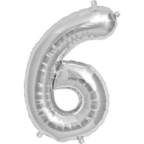 silver-number-6-foil-balloon-16-inches-41cm-product-image