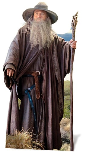 The Hobbit Gandalf Lifesize Cardboard Cutout - 191cm Product Gallery Image