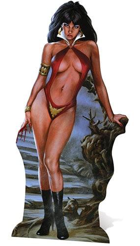 Vampirella Lifesize Cardboard Cutout - 181cm Product Gallery Image