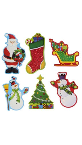 christmas-wall-decorations-pack-of-6-product-image