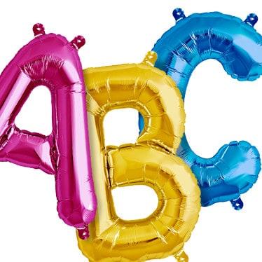 Giant Letter Balloons!!!