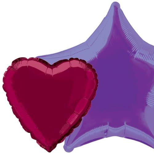 Plain Colour Foil Balloons