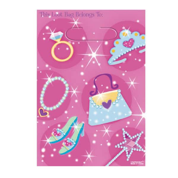 Prismatic Princess Loot Bags - Pack of 8