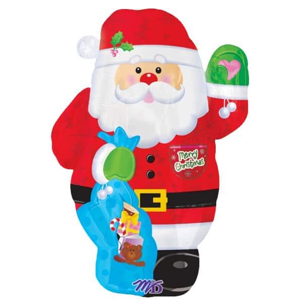 santa-waving-shape-foil-balloon-21-inches-53cm-product-image